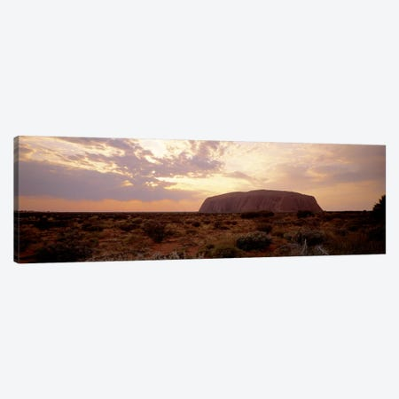 Uluru-Kata Tjuta National Park Northern Territory Australia Canvas Print #PIM2616} by Panoramic Images Canvas Print