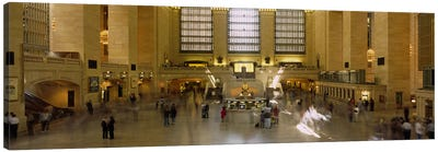 Group of people in a subway stationGrand Central Station, Manhattan, New York City, New York State, USA Canvas Print #PIM2618