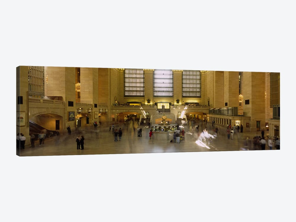 Group of people in a subway stationGrand Central Station, Manhattan, New York City, New York State, USA by Panoramic Images 1-piece Art Print