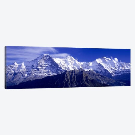 Bernese Alps, Berner Oberland, Bern, Switzerland Canvas Print #PIM2622} by Panoramic Images Art Print