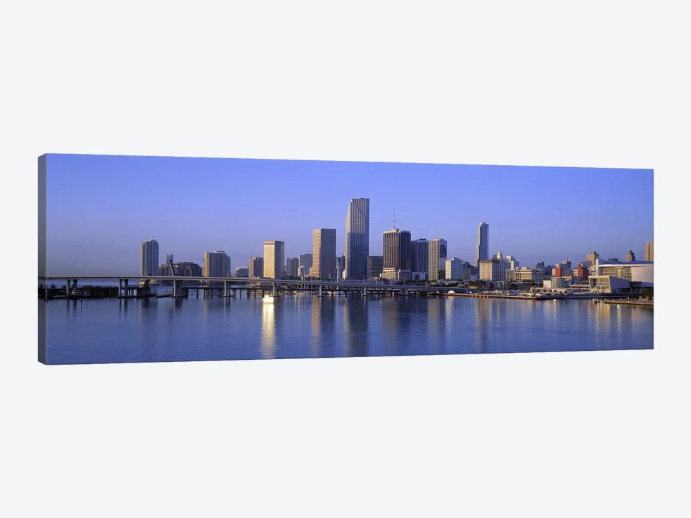 Skyline Miami FL USA by Panoramic Images 1-piece Art Print
