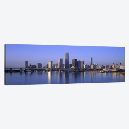 Skyline Miami FL USA Canvas Print #PIM2623} by Panoramic Images Art Print