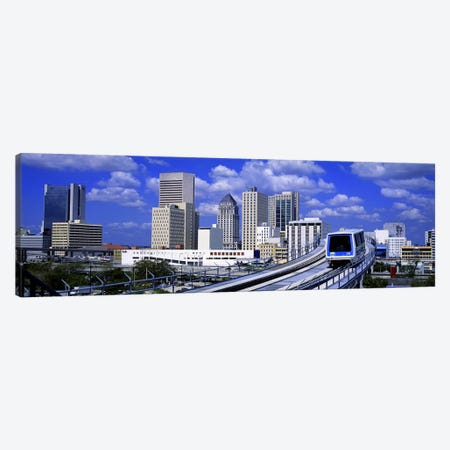 Metro Mover Shuttle MiamiFlorida, USA Canvas Print #PIM2625} by Panoramic Images Canvas Wall Art