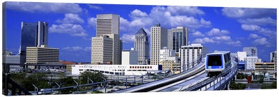 Metro Mover Shuttle MiamiFlorida, USA Canvas Print #PIM2625