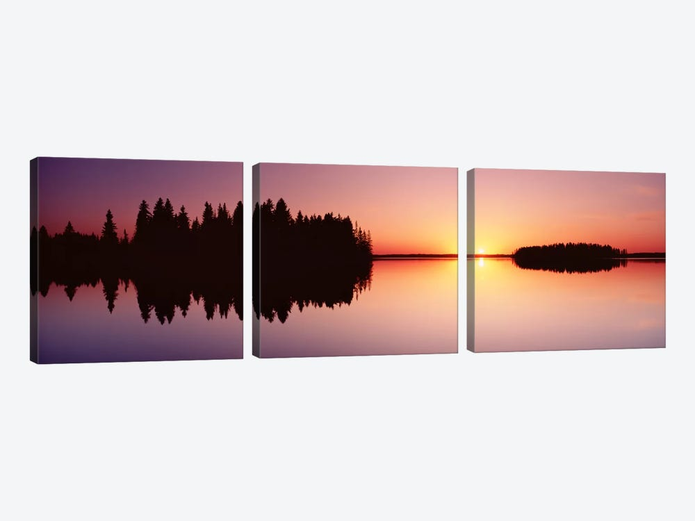 Canada, Alberta, Elk Island National Park by Panoramic Images 3-piece Art Print