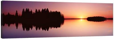 Canada, Alberta, Elk Island National Park Canvas Art Print