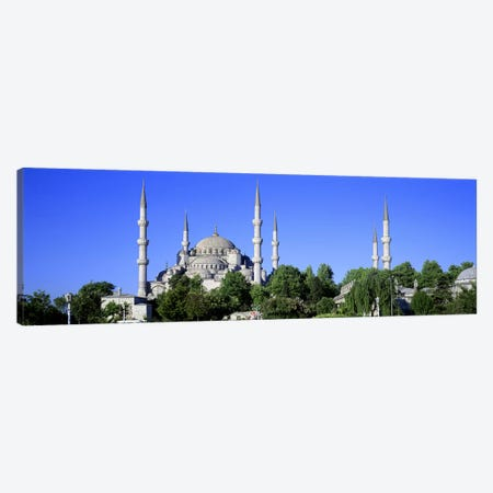 Blue Mosque Istanbul Turkey Canvas Print #PIM2631} by Panoramic Images Canvas Artwork