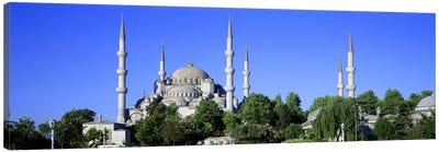 Blue Mosque Istanbul Turkey Canvas Print #PIM2631