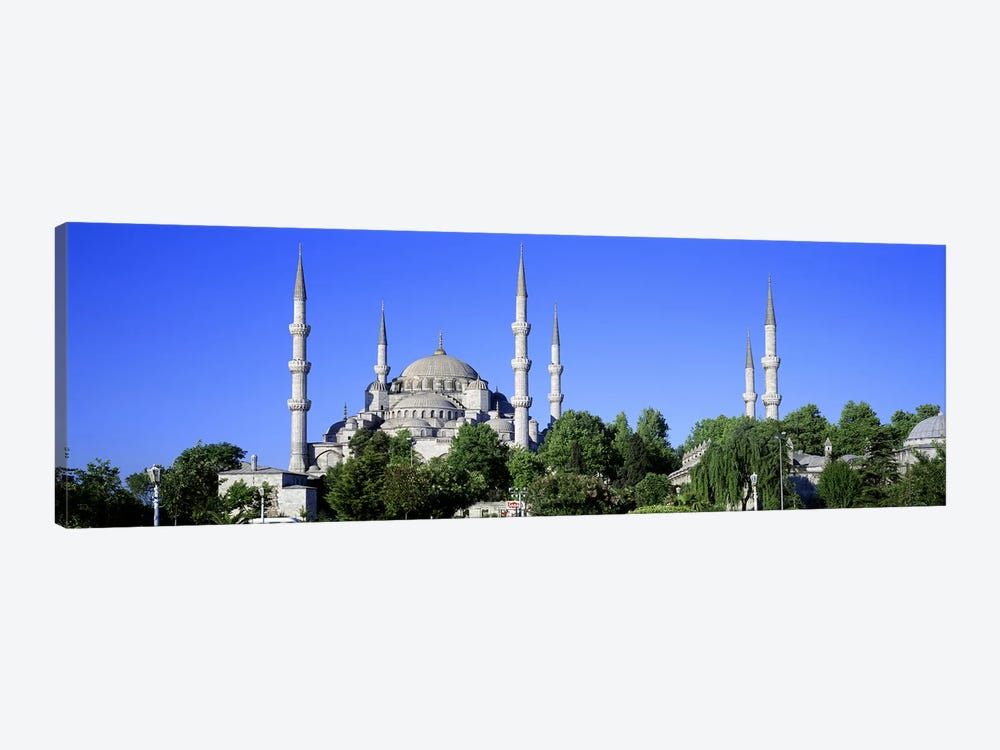 Blue Mosque Istanbul Turkey by Panoramic Images 1-piece Canvas Art