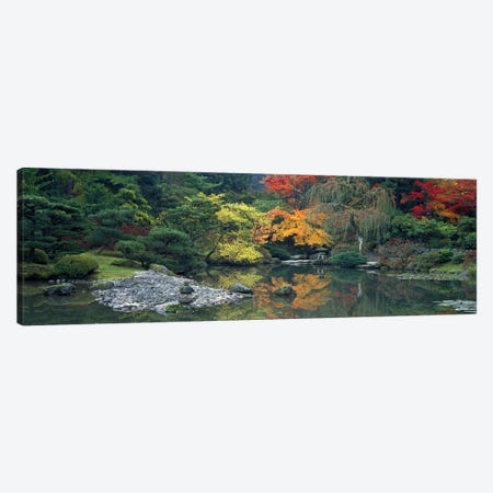 The Japanese Garden Seattle WA USA Canvas Print #PIM2633} by Panoramic Images Canvas Wall Art