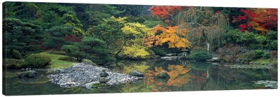 The Japanese Garden Seattle WA USA Canvas Print #PIM2633