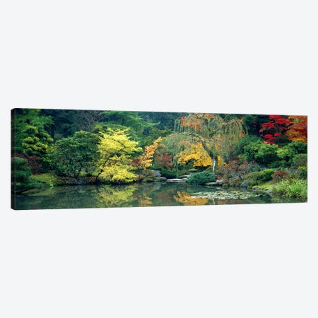 The Japanese Garden Seattle WA USA Canvas Print #PIM2634} by Panoramic Images Canvas Print
