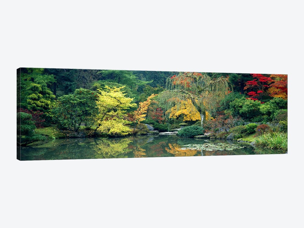The Japanese Garden Seattle WA USA by Panoramic Images 1-piece Canvas Print