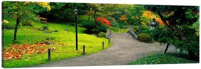 Stone BridgeThe Japanese Garden, Seattle, Washington State, USA Canvas Print #PIM2636