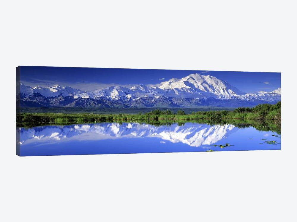 Denali (Mount McKinley), Denali National Park & Preserve, Alaska, USA by Panoramic Images 1-piece Canvas Print