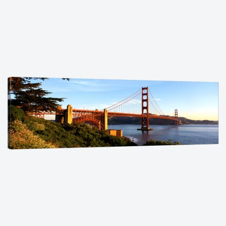 USA, California, San Francisco, Golden Gate Bridge Canvas Print #PIM263} by Panoramic Images Canvas Artwork