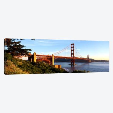 USA, California, San Francisco, Golden Gate Bridge Canvas Print #PIM263} by Panoramic Images Canvas Artwork