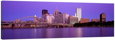 Allegheny River Pittsburgh PA Canvas Art Print