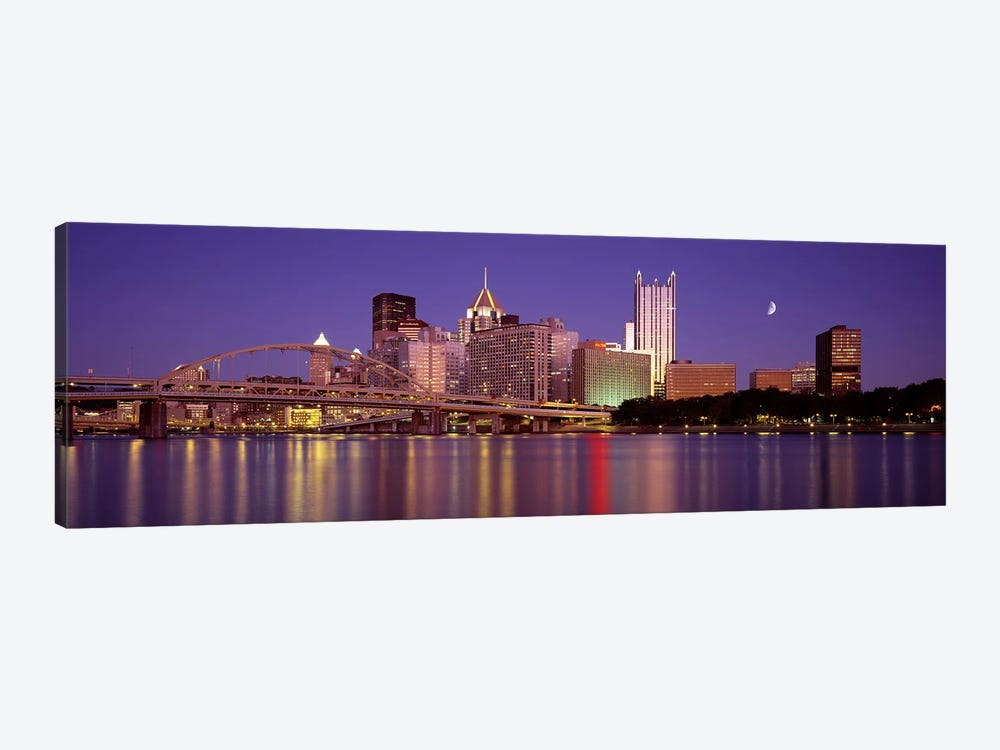 Allegheny River, Pittsburgh, Pennsylvania, USA by Panoramic Images 1-piece Canvas Art Print