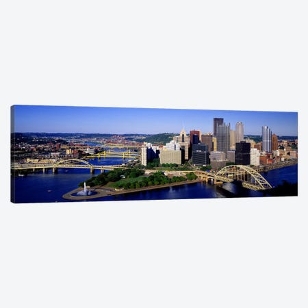 Pittsburgh, Pennsylvania, USA Canvas Print #PIM2651} by Panoramic Images Canvas Wall Art