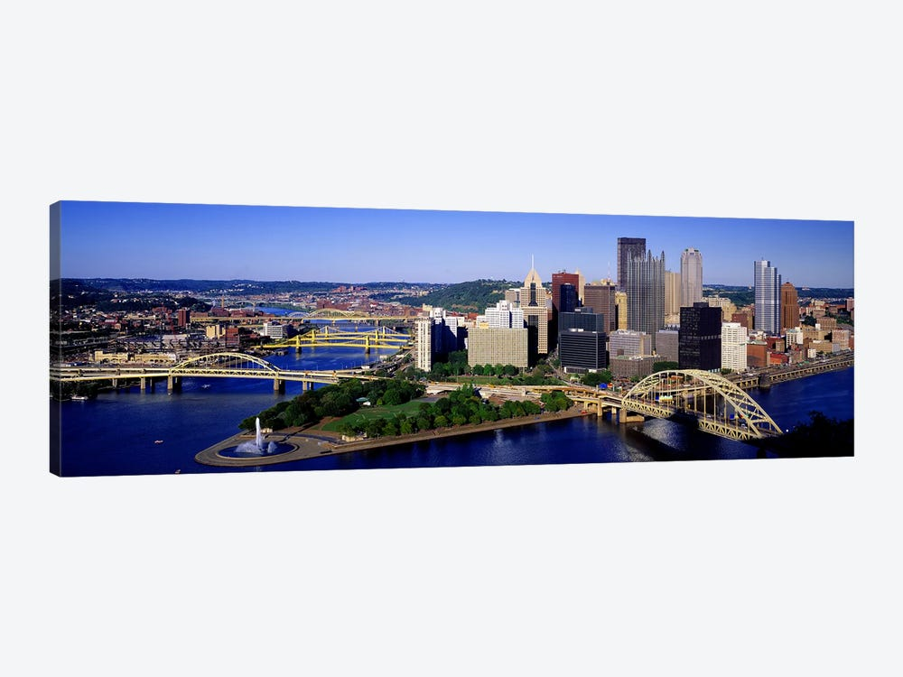 Pittsburgh, Pennsylvania, USA by Panoramic Images 1-piece Canvas Artwork