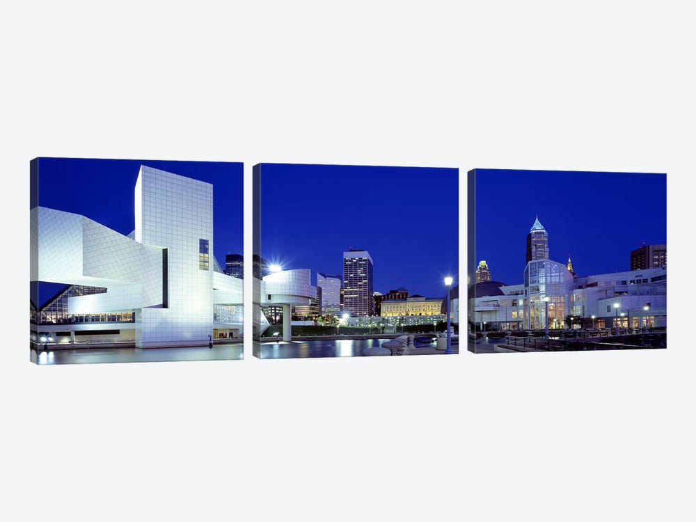 Cleveland, Ohio, USA by Panoramic Images 3-piece Canvas Art