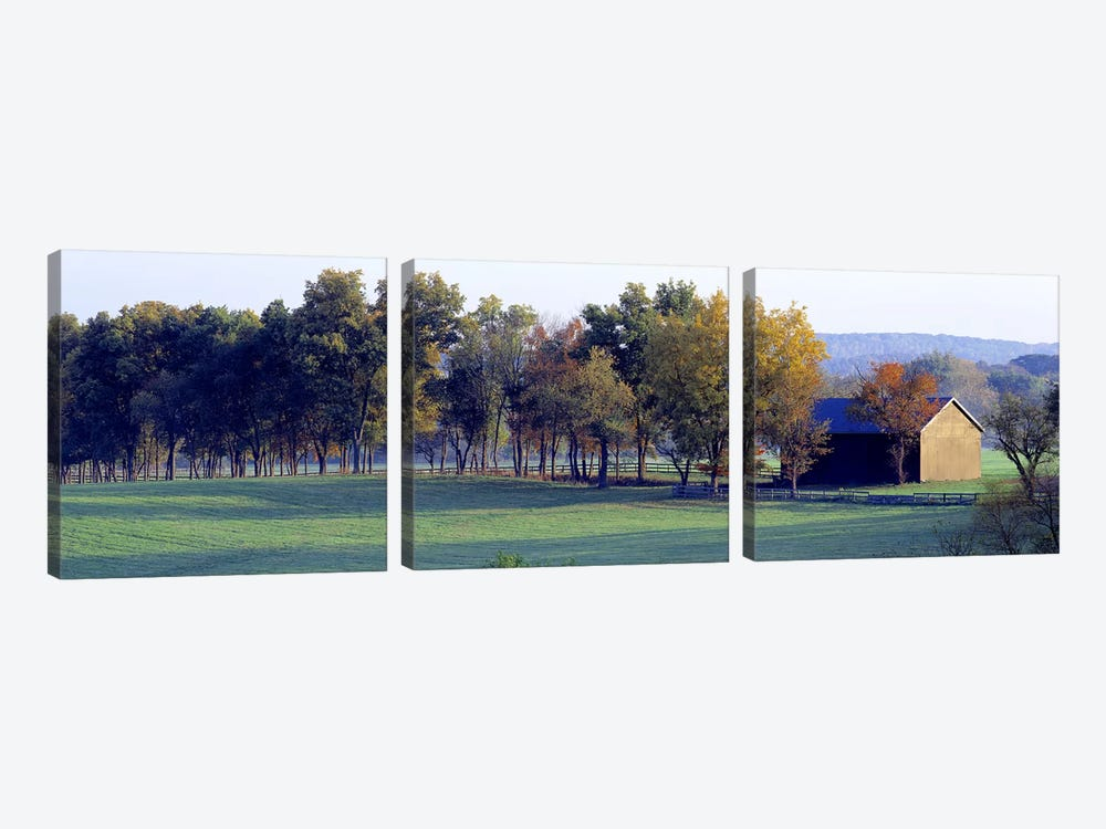 Barn Baltimore County MD USA by Panoramic Images 3-piece Art Print