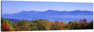 Lake George & Adirondack Mountains, New York, USA Canvas Print #PIM2660