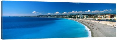 Mediterranean Sea French Riviera Nice France Canvas Print #PIM2661