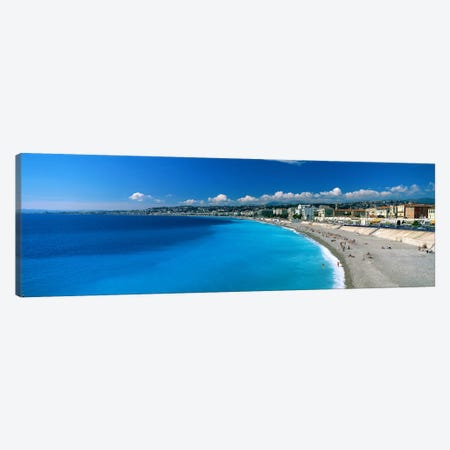 Mediterranean Sea French Riviera Nice France Canvas Print #PIM2661} by Panoramic Images Canvas Art Print