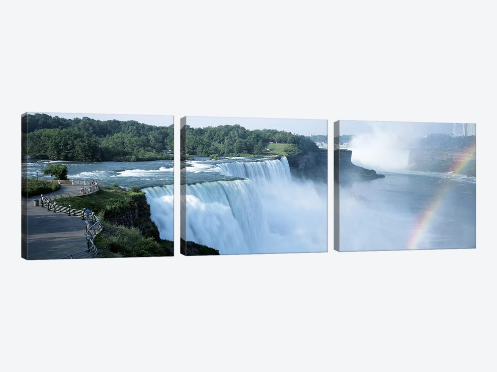 American Falls Niagara Falls NY USA by Panoramic Images 3-piece Canvas Artwork