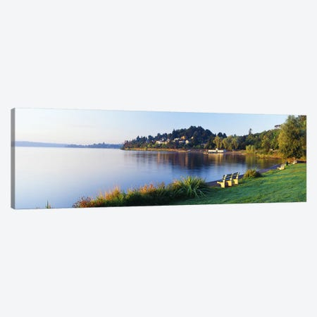 Lake Washington, Mount Baker Park, Seattle, Washington State, USA Canvas Print #PIM2670} by Panoramic Images Canvas Wall Art