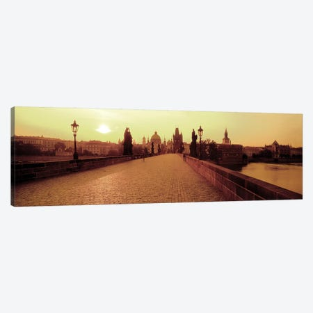 Charles Bridge II, Prague, Czech Republic Canvas Print #PIM2678} by Panoramic Images Canvas Artwork