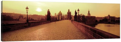 Charles Bridge II, Prague, Czech Republic Canvas Print #PIM2678