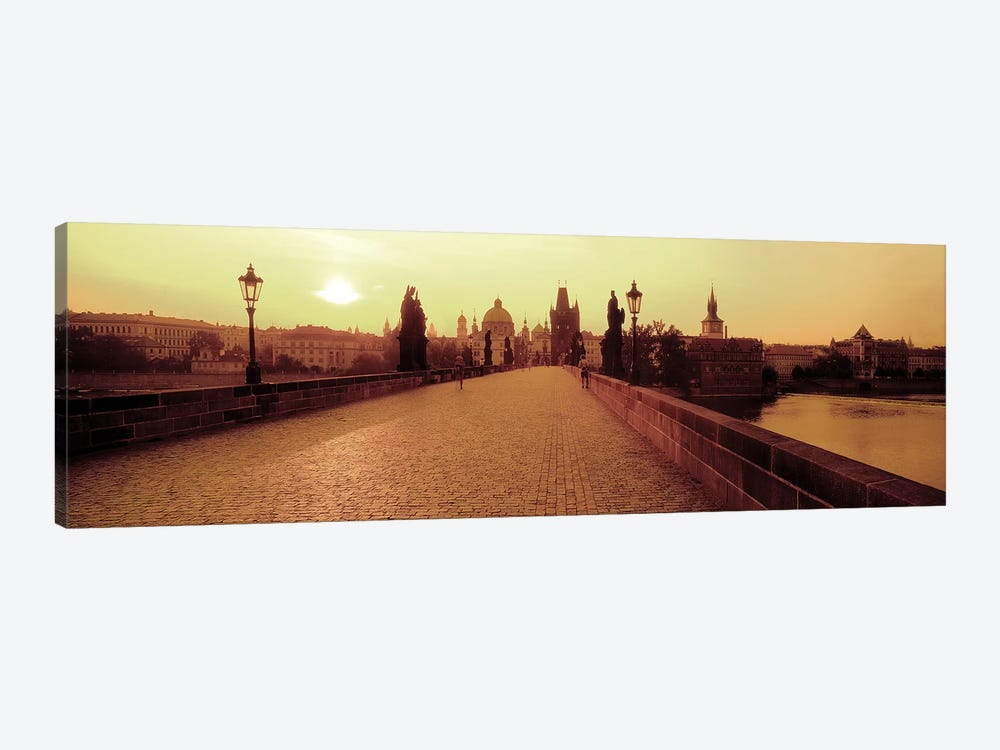 Charles Bridge II, Prague, Czech Republic by Panoramic Images 1-piece Canvas Print