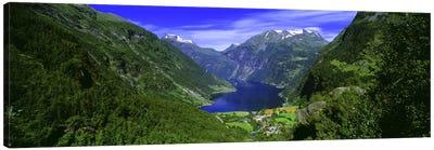 Geiranger Fjord, Sunnmore Region, More Og Romsdal, Norway Canvas Art Print