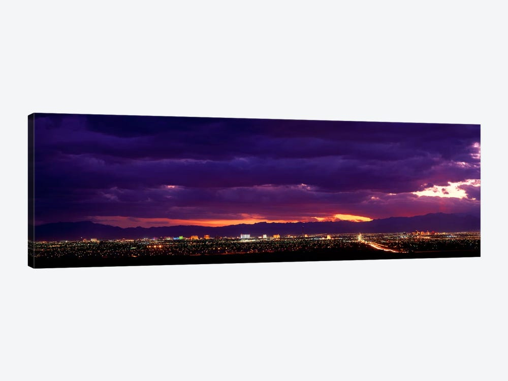 Storm, Las Vegas, Nevada, USA by Panoramic Images 1-piece Canvas Art Print