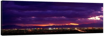 Storm, Las Vegas, Nevada, USA Canvas Art Print