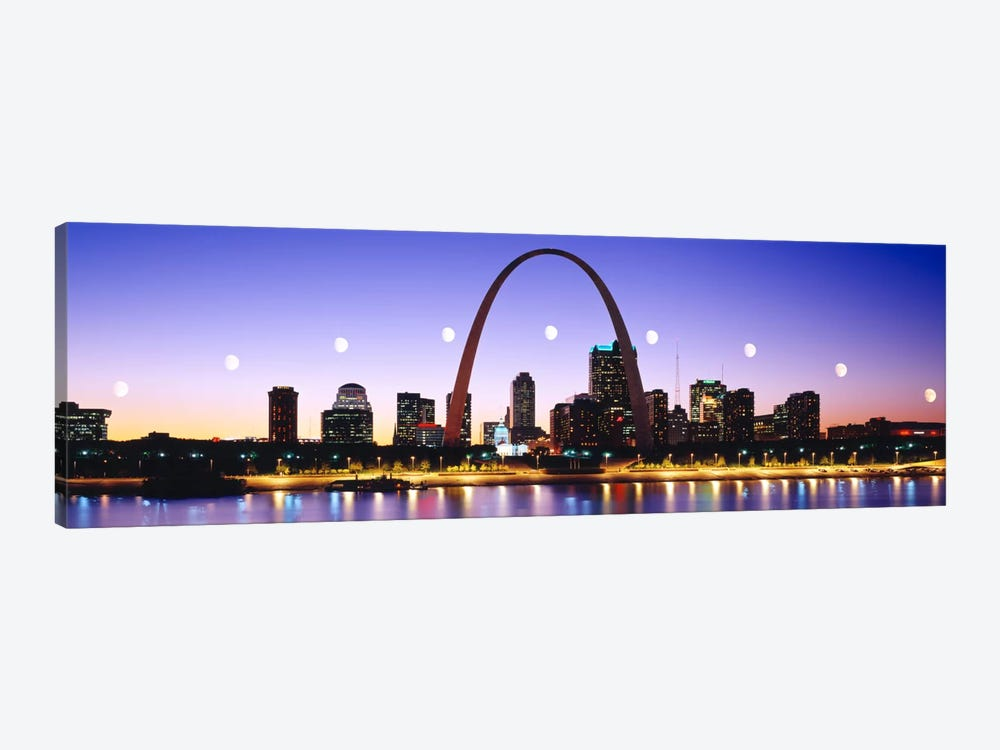 Skyline St Louis Missouri USA by Panoramic Images 1-piece Canvas Wall Art