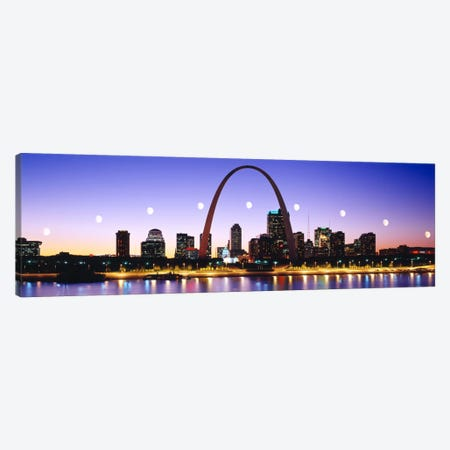 Skyline St Louis Missouri USA Canvas Print #PIM2695} by Panoramic Images Canvas Art Print
