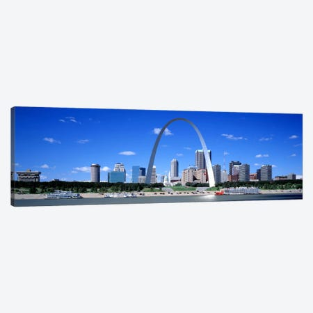 Skyline, St Louis, MO, USA Canvas Print #PIM2697} by Panoramic Images Art Print
