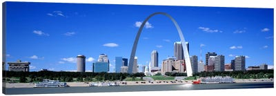 Skyline, St Louis, MO, USA Canvas Art Print
