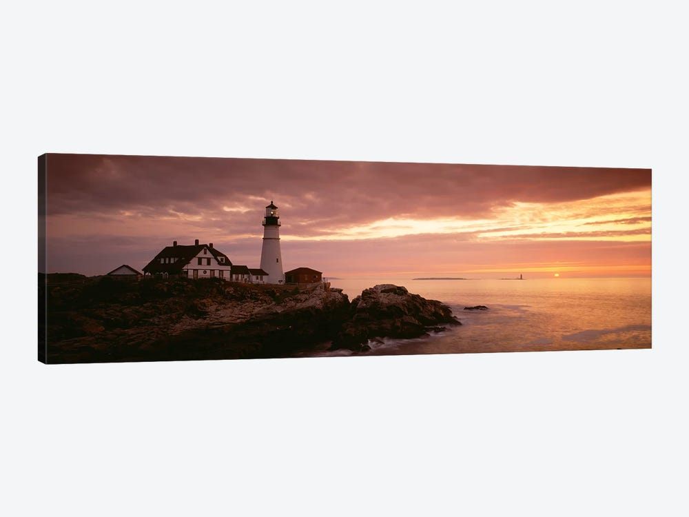 Portland Head Lighthouse, Cape Elizabeth, Maine, USA by Panoramic Images 1-piece Art Print