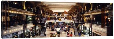 Interiors of a shopping mall, Bourse Shopping Center, Philadelphia, Pennsylvania, USA Canvas Print #PIM2701