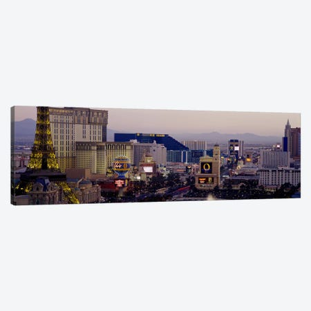 High angle view of buildings in a city, Las Vegas, Nevada, USA Canvas Print #PIM2702} by Panoramic Images Canvas Artwork