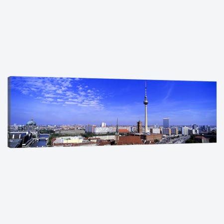 Aerial View Of Mitte Borough, Berlin, Germany Canvas Print #PIM2707} by Panoramic Images Canvas Art Print