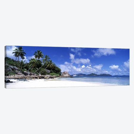 La Digue Island Seychelles Canvas Print #PIM2708} by Panoramic Images Canvas Wall Art