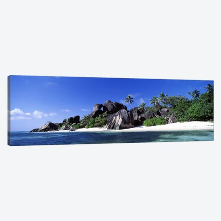 La Digue Island Seychelles Canvas Print #PIM2710} by Panoramic Images Art Print