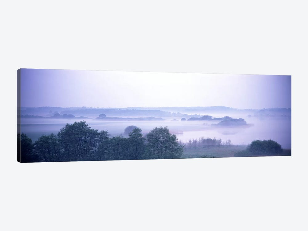 Foggy Landscape Northern Germany by Panoramic Images 1-piece Canvas Print