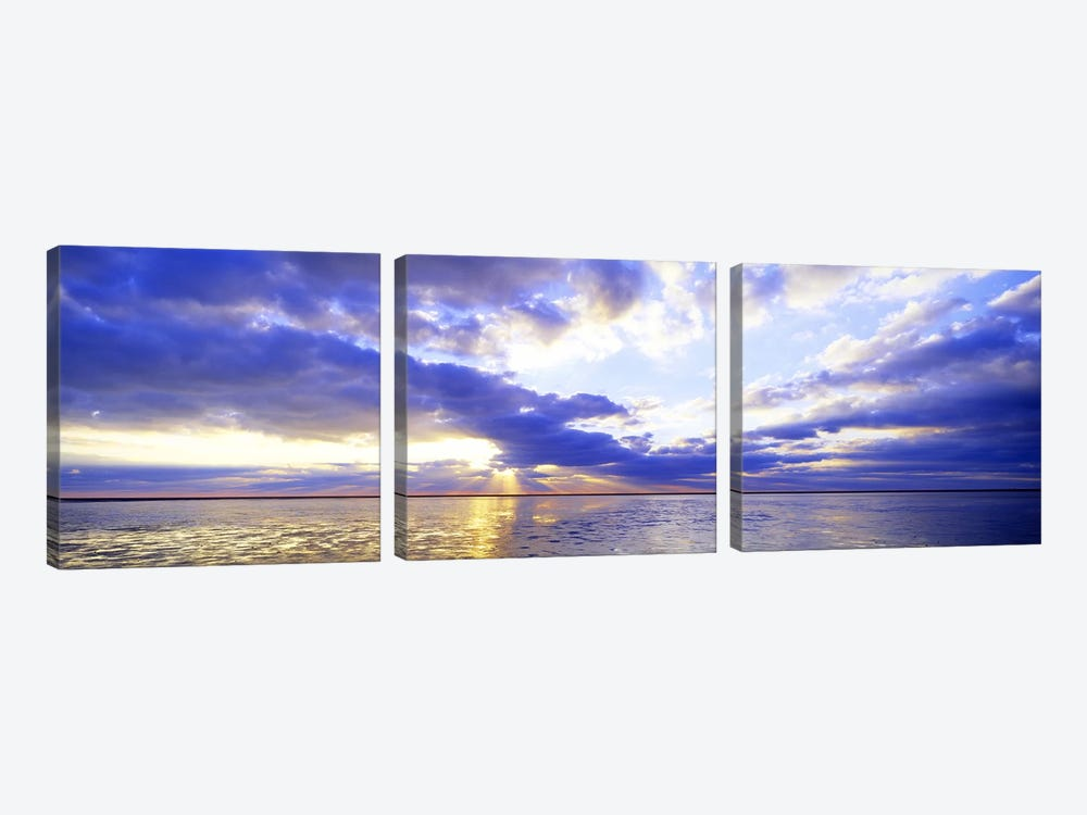 Majestic Sunset, Germany by Panoramic Images 3-piece Canvas Print